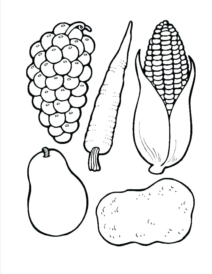 - Vegetable Coloring Pages Picture - Whitesbelfast