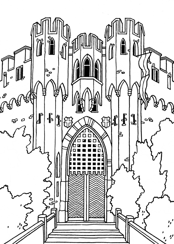 Medieval Coat of Arms coloring pages | Coloring Pages | 800x570