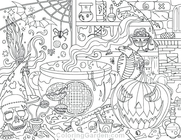 - Adult Halloween Coloring Pages Collection - Whitesbelfast