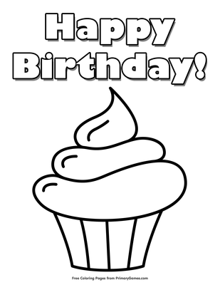 Cupcake Coloring Pages Gallery Whitesbelfast Com