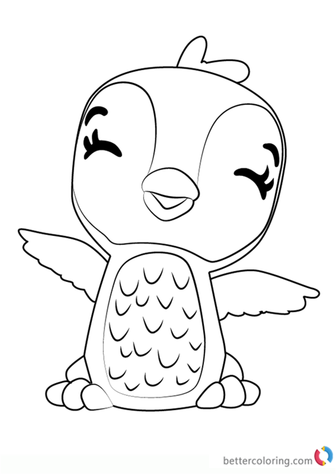 Hatchimals Coloring Pages Printable Www.robertdee.org