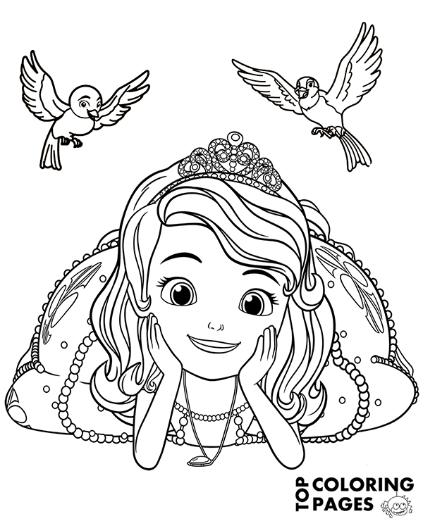 - Sofia Coloring Pages Pictures - Whitesbelfast