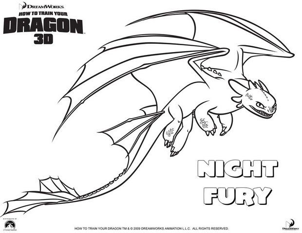 How To Train Your Dragon Coloring Pages Pictures - Whitesbelfast.com