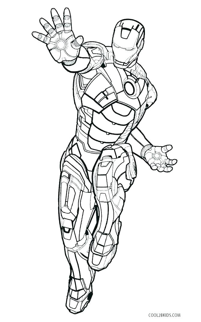Ironman Coloring Pages Collection Whitesbelfast