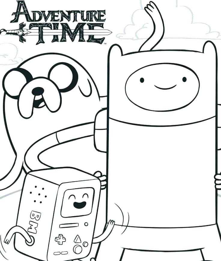 Adventure Time Coloring Pages - Best Coloring Pages For Kids   867x736