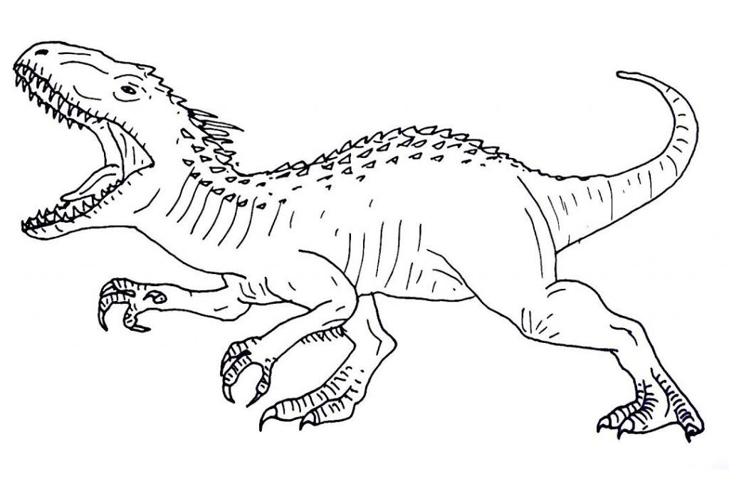 Jurassic World Coloring Pages Picture Whitesbelfast Com