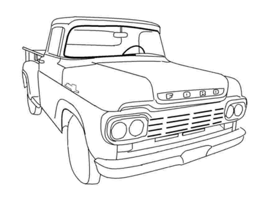 Truck Coloring Pages Gallery - Whitesbelfast