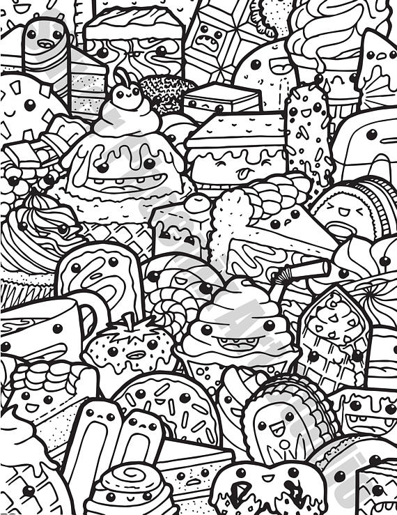 Doodle Coloring Pages Pictures - Whitesbelfast.com