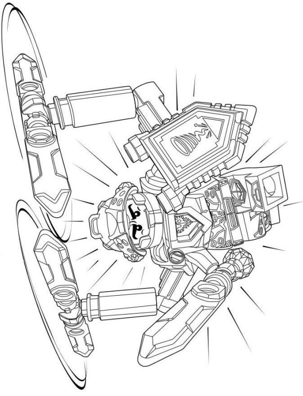 foto de Nexo Knights Coloring Pages Collection - Whitesbelfast