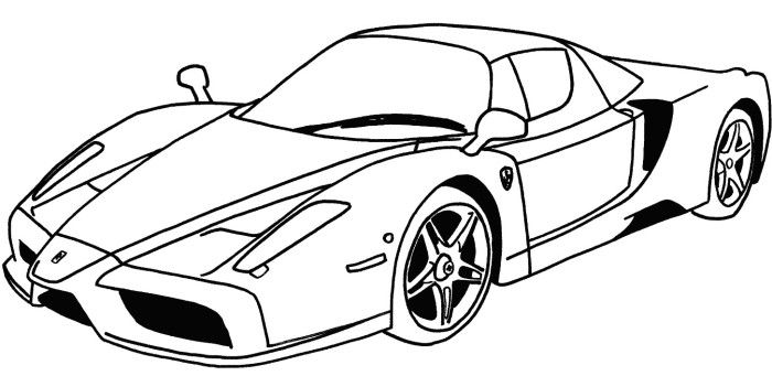 Ferrari Coloring Pages Collection Whitesbelfast Com