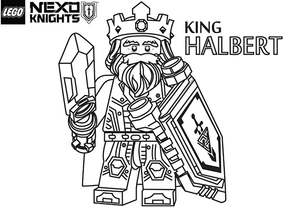 - Nexo Knights Coloring Pages Collection - Whitesbelfast