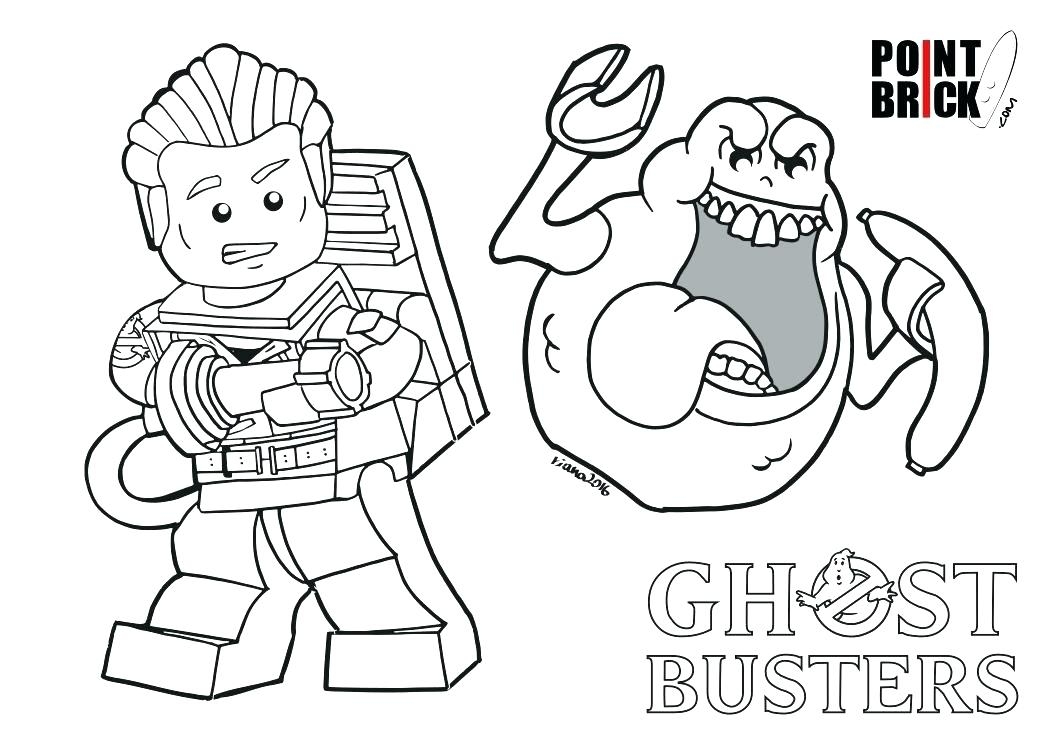 Ghostbusters Coloring Pages Pictures Whitesbelfast
