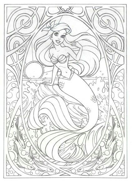 Disney Coloring Pages For Adults Pictures Whitesbelfast Com