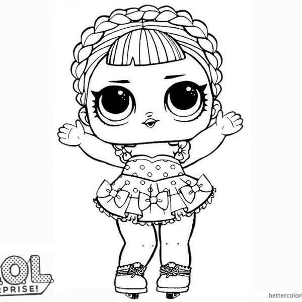 Lol Dolls Coloring Pages Ideas Whitesbelfast