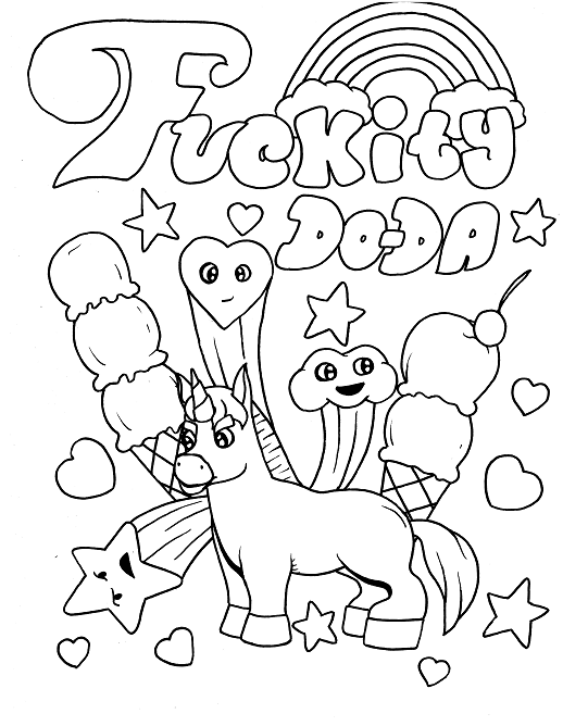 Funny Coloring Pages Ideas - Whitesbelfast.com
