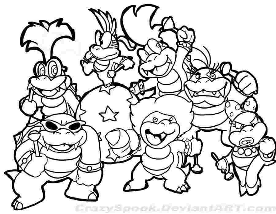 Super Mario Coloring Pages Gallery Whitesbelfast Com