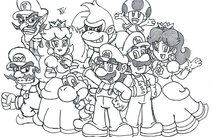 super mario odyssey cappy coloring pages