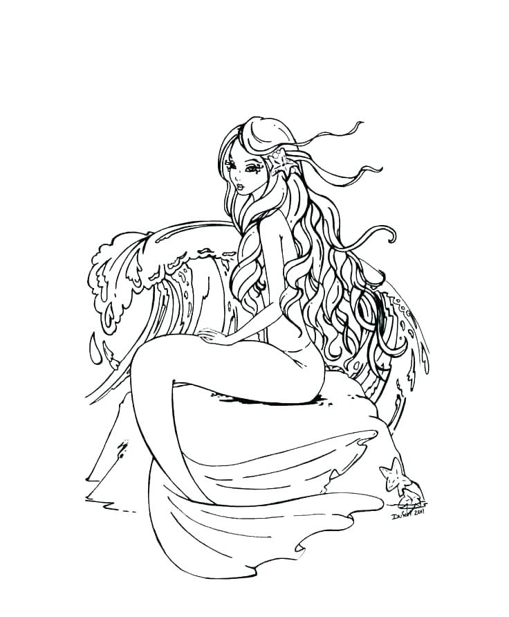 Picture For > Coloring Pages Of Mermaids From H2o | Coloring ... | 891x736