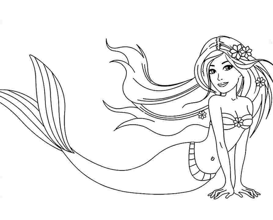 Download Coloring Pages Little Mermaid Coloring Pictures In Model ... | 720x894