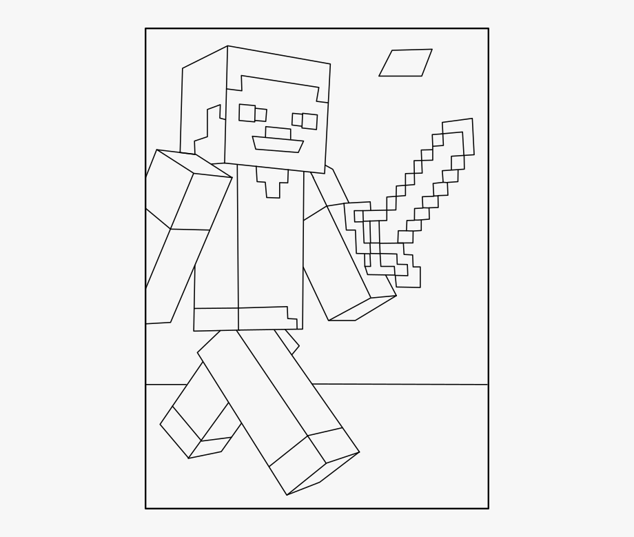 Coloring Pages Minecraft Gallery Whitesbelfast