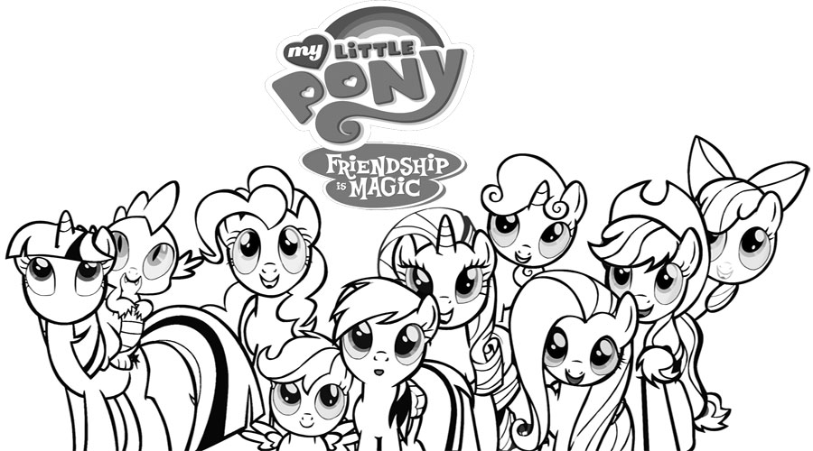 My Little Pony : My Little Pony Who Was Laughing Love Coloring ... | 500x900