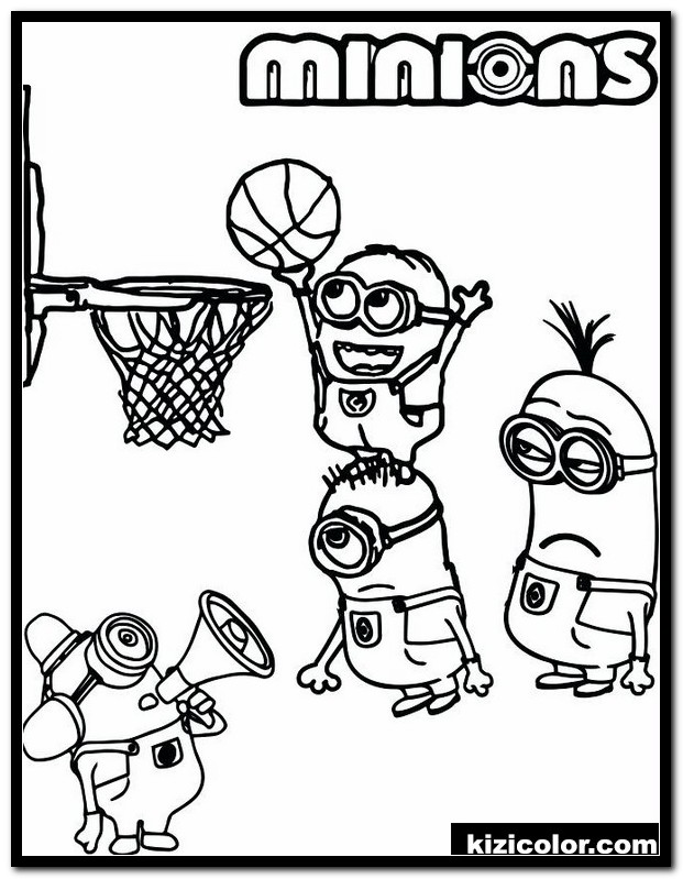 Basketball Coloring Pages Idea - Whitesbelfast