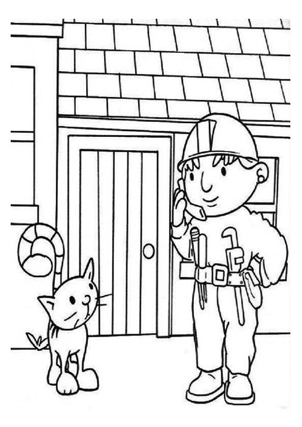Bob The Builder Coloring Pages Gallery Whitesbelfast Com