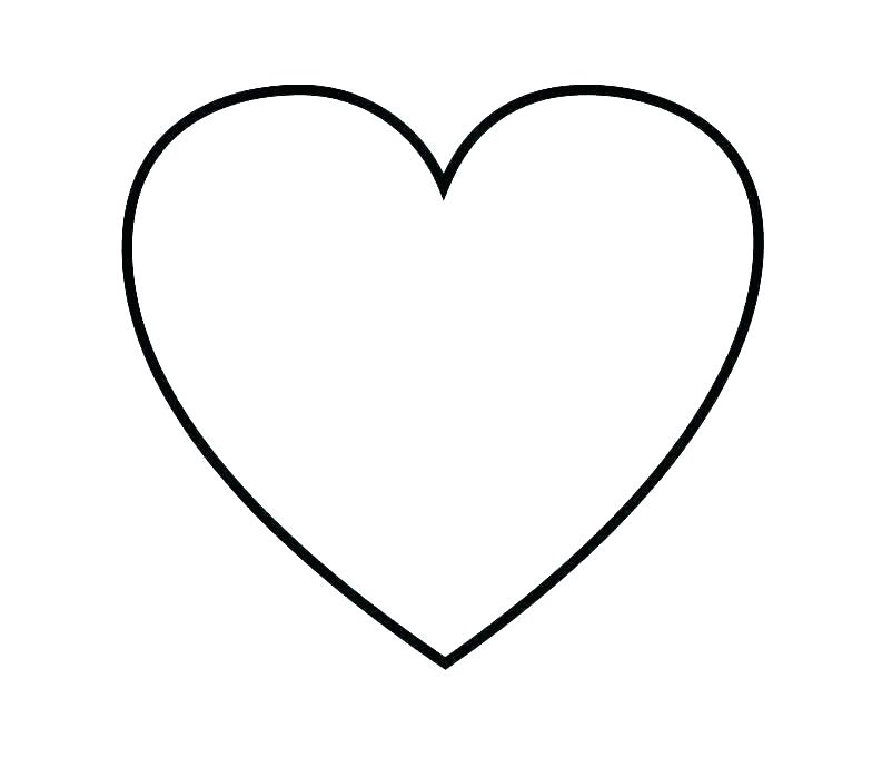 Coloring Pages Of Hearts Idea
