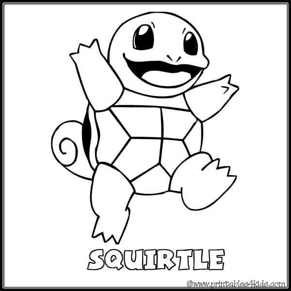Squirtle Coloring Pages Gallery Whitesbelfast Com