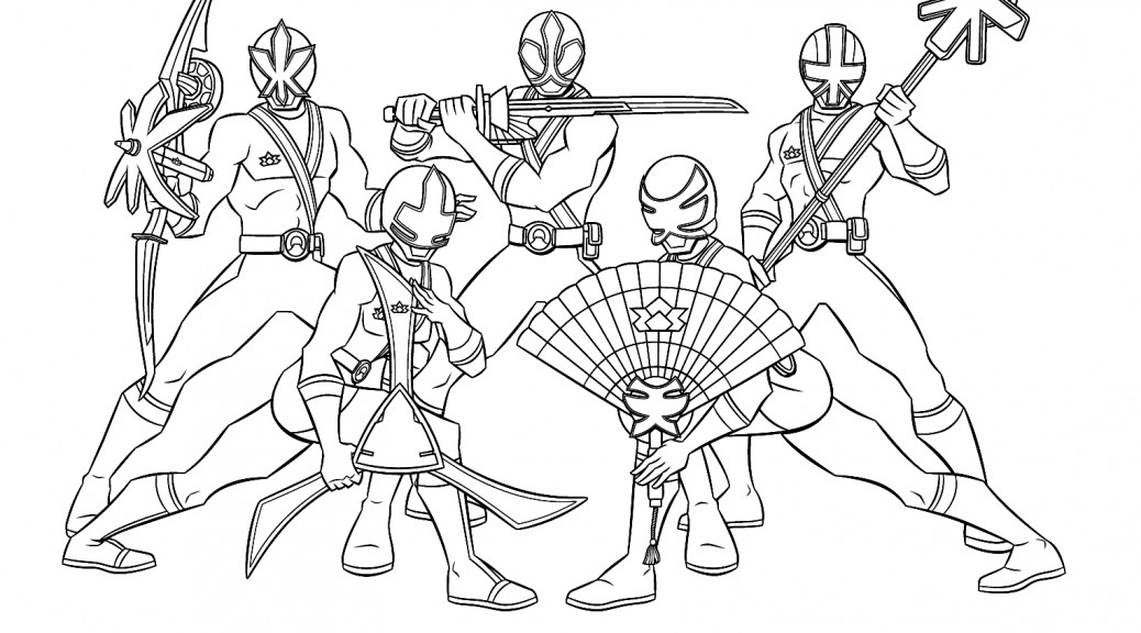 - Power Rangers Coloring Pages Idea - Whitesbelfast