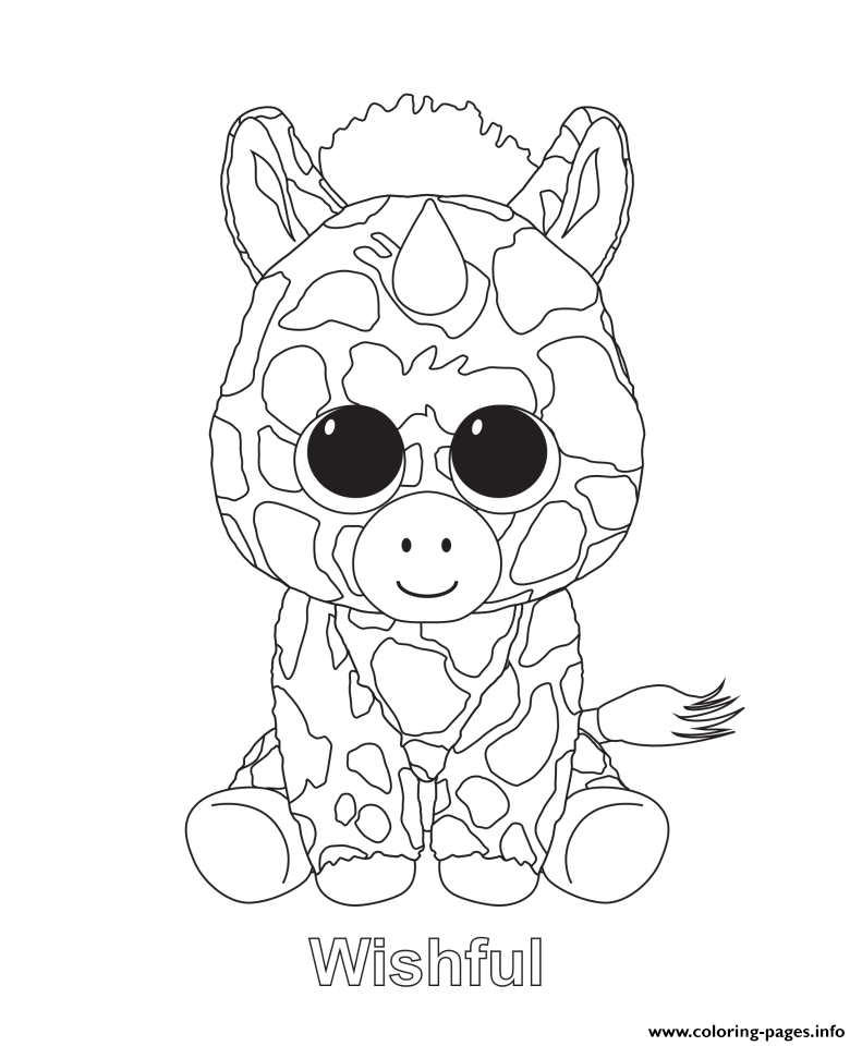 - Beanie Boo Coloring Pages Pictures - Whitesbelfast