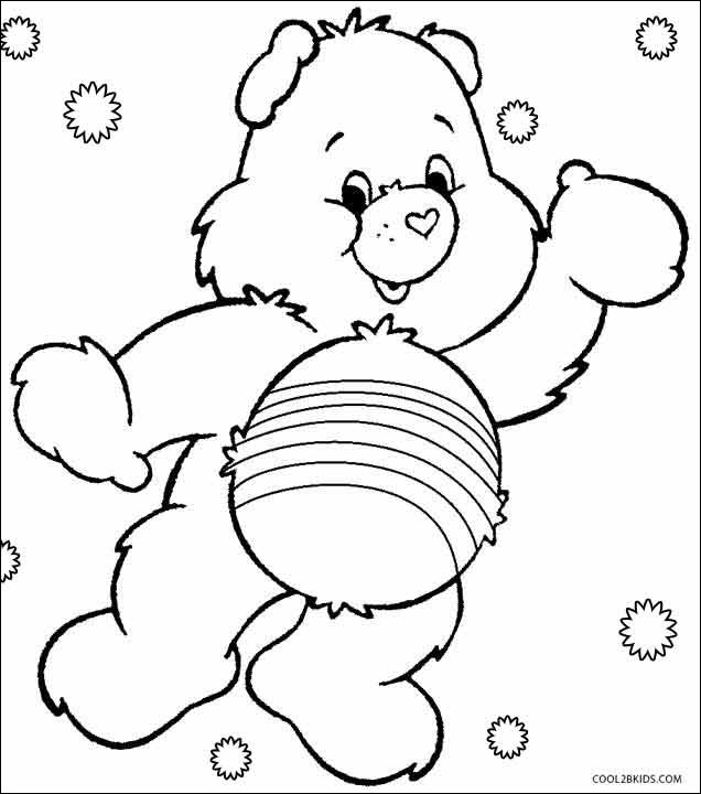 Care Bears Coloring Pages Ideas Whitesbelfast Com