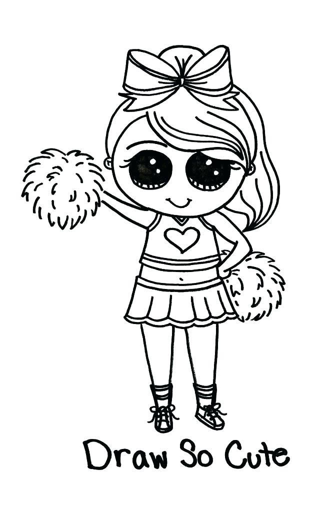 Draw So Cute Coloring Pages Pictures - Whitesbelfast