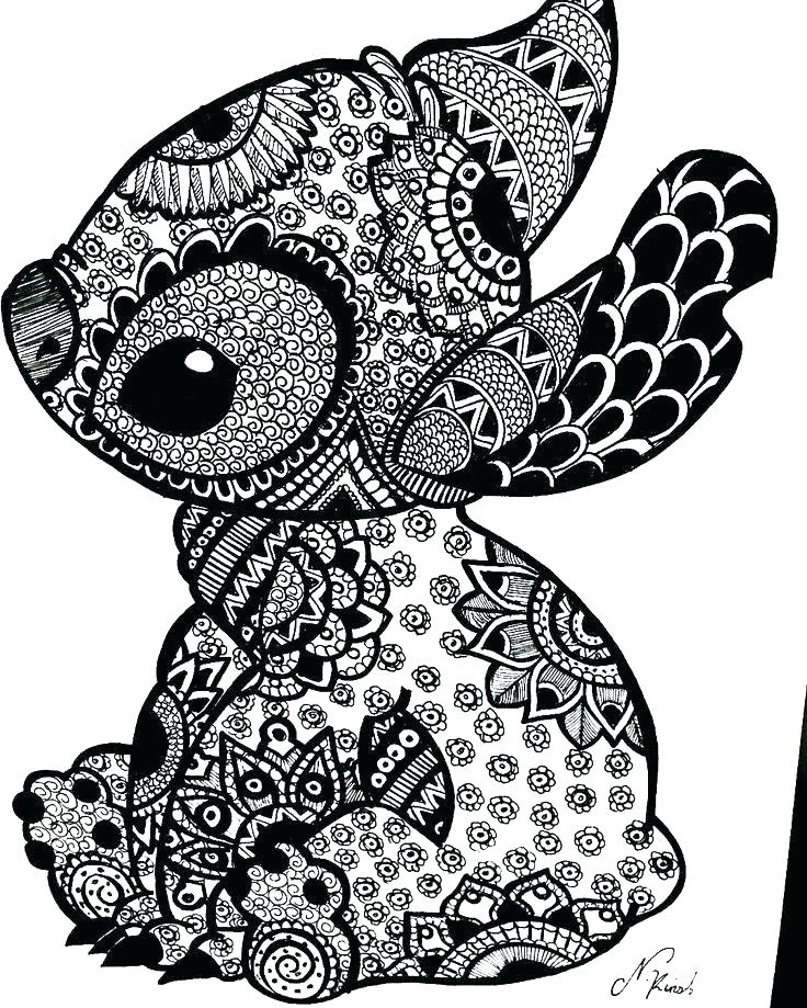 Stitch Coloring Pages Gallery - Whitesbelfast.com