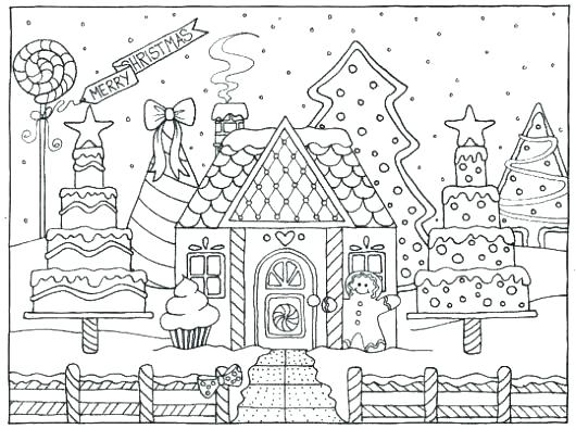 - Gingerbread House Coloring Book Newitaliancinema.org