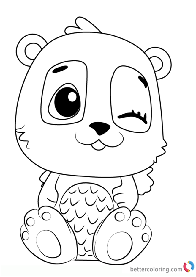 - Hatchimal Coloring Pages Collection - Whitesbelfast