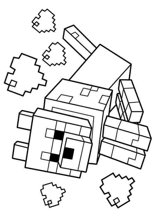 Coloring Pages Minecraft Gallery Whitesbelfast Com
