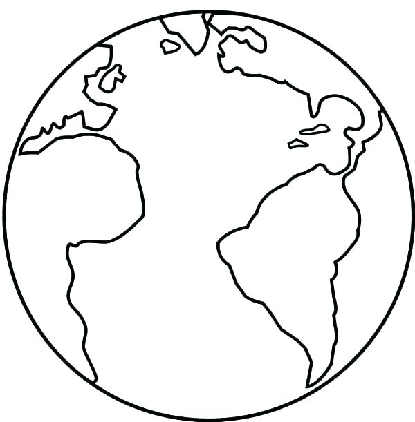 Earth Coloring Pages Picture Whitesbelfast Com