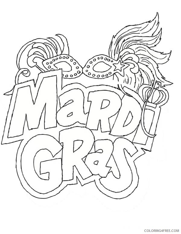 It's just a graphic of Crafty Mardi Gras Coloring Sheets Printable