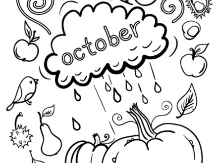 October Coloring Pages Picture Whitesbelfast