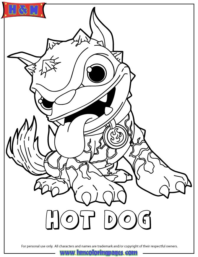 Skylanders Coloring Pages Picture Whitesbelfast