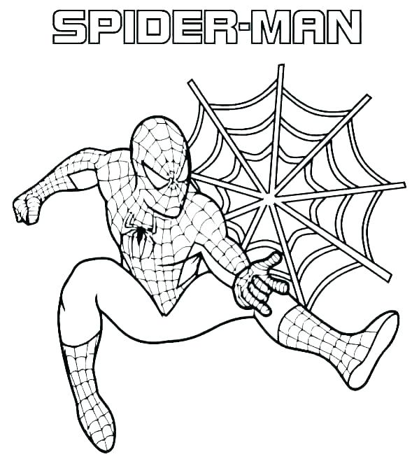 40 Spider-Man coloring pages - Topcoloringpages.net | 656x599