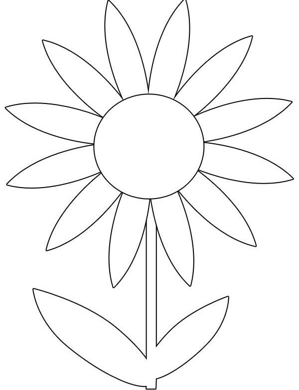 Spring Flower Coloring Pages Ideas - Whitesbelfast