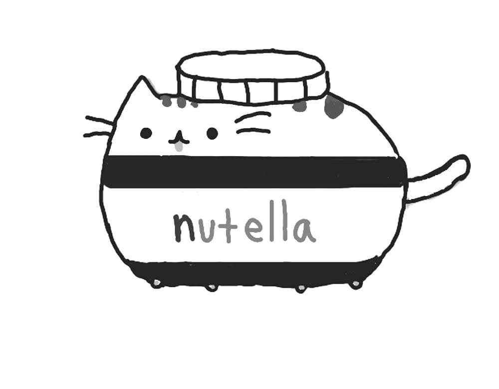 - Pusheen Coloring Pages Idea - Whitesbelfast