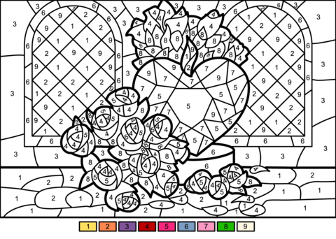 Numbers Coloring Pages Pictures
