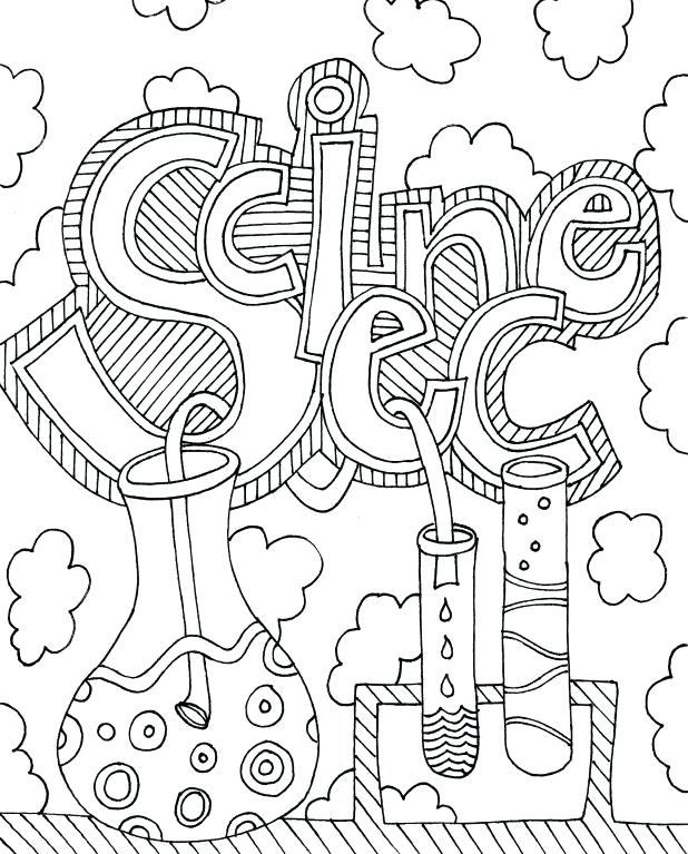 Science Coloring Pages Picture - Whitesbelfast