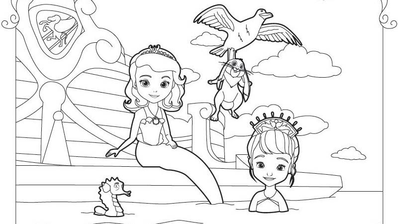 Sofia The First Coloring Pages Gallery Whitesbelfast Com