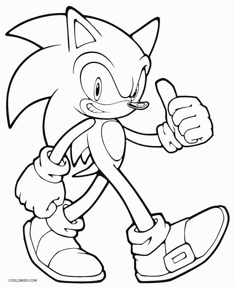 Sonic Coloring Pages Ideas Whitesbelfast Com
