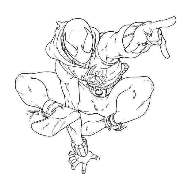 Miles Morales Coloring Pages Collection - Whitesbelfast
