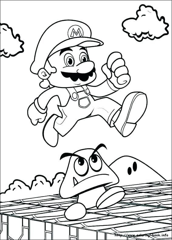super mario odyssey coloring pages printable